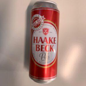 Haake Beck Dose 0,5L inkl. Pfand 0,25€
