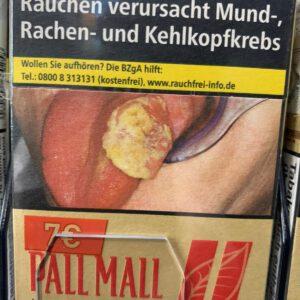 Pall Mall Rot ohne Zusätze