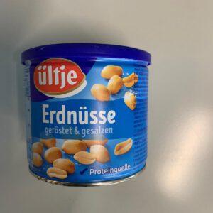 Erdnüsse ( geröstet & gesalzen )